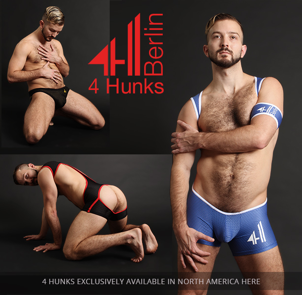 4 Hunks Sports Fetish Gear from Berlin- Exclusively at Jockstrap Central