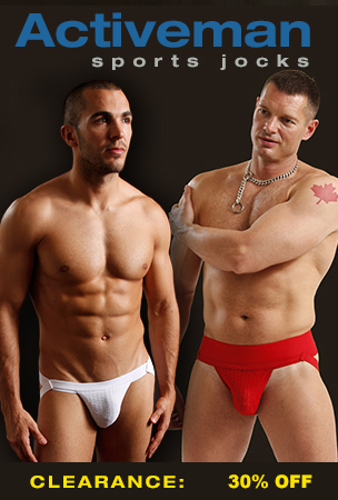 Activeman Jockstrap Clearance - 30% Off All Jockstraps