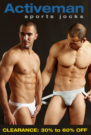 Activeman Jockstrap Clearance - 30% to 60% Off All Jockstraps