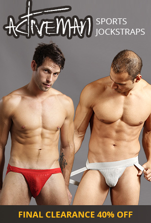 Activeman Sports Jockstraps Final Clearance - 40% off