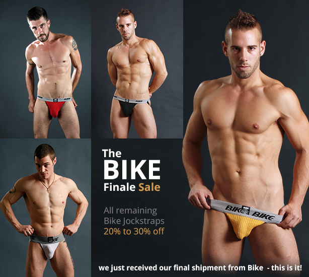 Bike Finale Sale - 20% to 30% Off All Bike Jockstraps