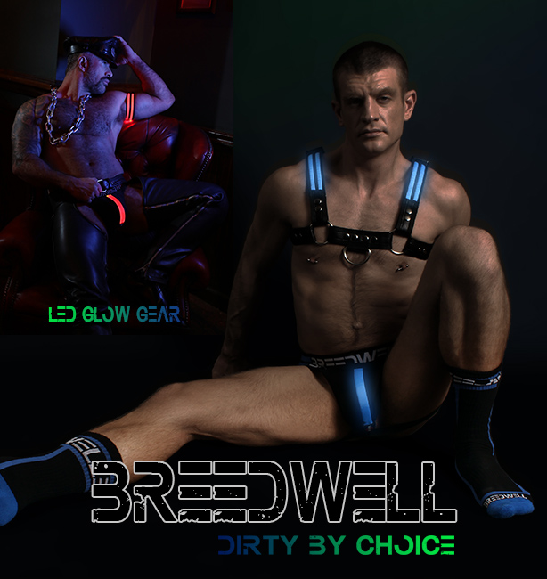 Breedwell - Dirty By Nature - Glow Jockstraps Harnesses and Fetish Gear