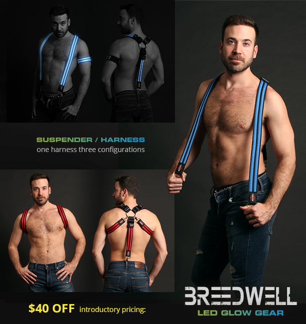 Breedwell - Glow Suspender / Harness - Introductory Pricing