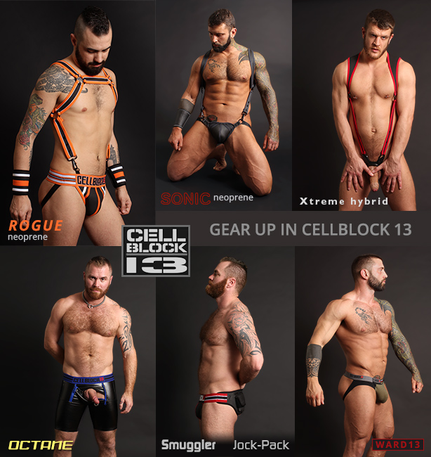 Cellblock 13 Jockstraps and Sports Fetish Gear