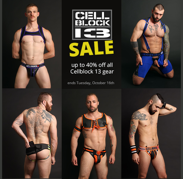 Cellblock 13 Flash Fall Sale - up to 40% off everything
