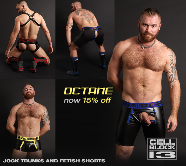 Cellblock 13 Octane Fetish Short Sale