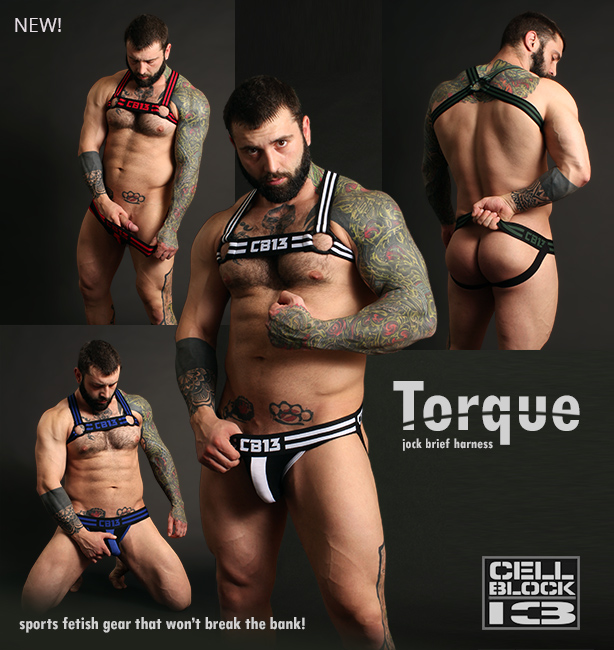 Cellblock 13 Torque Jocks, Briefs and Harnesses