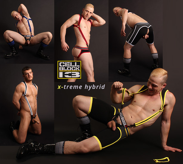Cellblock 13 X-treme Hybrid Jocks and Fetish Gear