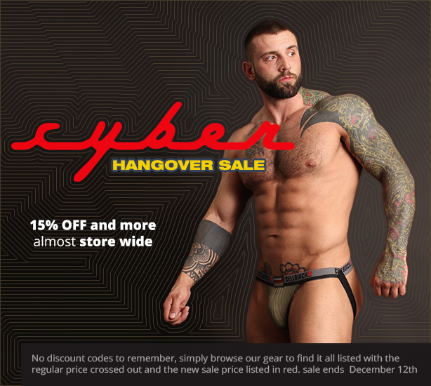 Cyber Hangiver Sale - 15% off practically everything store wide