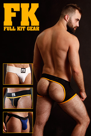 Full Kit Gear Jockstraps and Open Back Trunks 15% Off