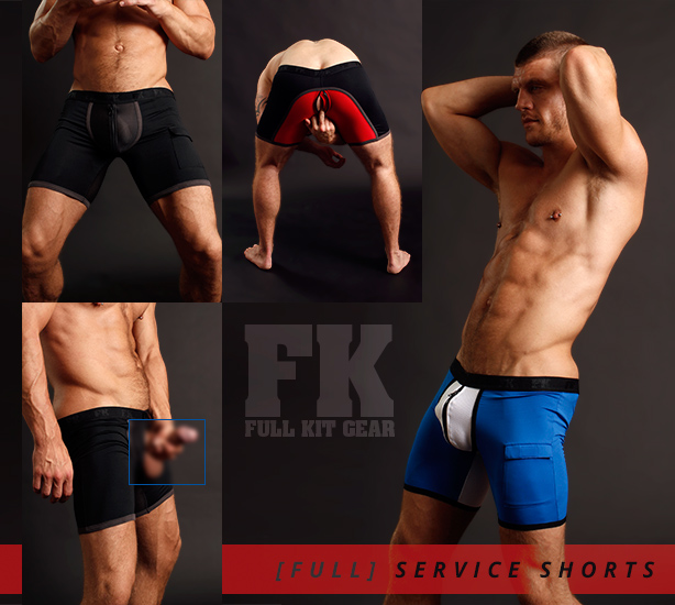 Full Kit Gear Service Shorts are Here!