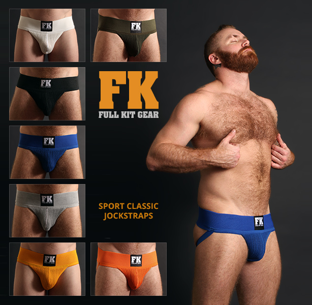 Full Kit Gear Sport Classic Jockstraps are Here