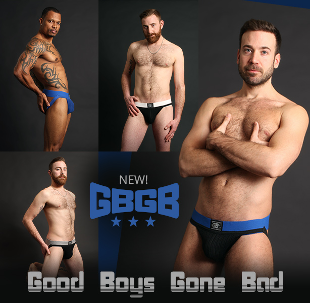 New GBGB Jockstraps Just Arrived