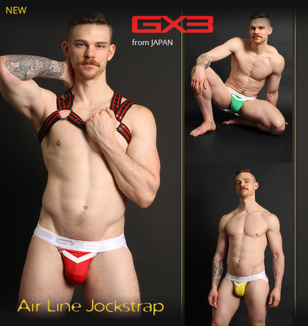 GX3 Air Line Jockstraps - Exclusively available in North America here