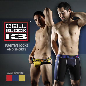 Cellblock 13 Fugitive Jocks & Shorts