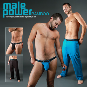 Male Power Bamboo Jockstraps & Pants
