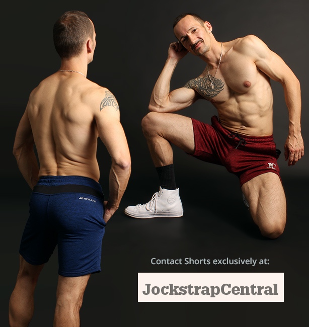 JC Athletic Contact Shorts for sport, working out or lounging