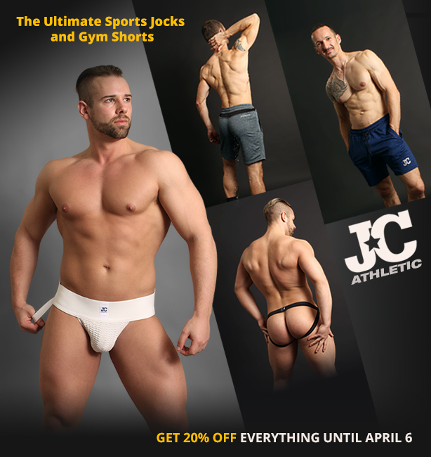 JC Athletic Jockstraps and Shorts Sale