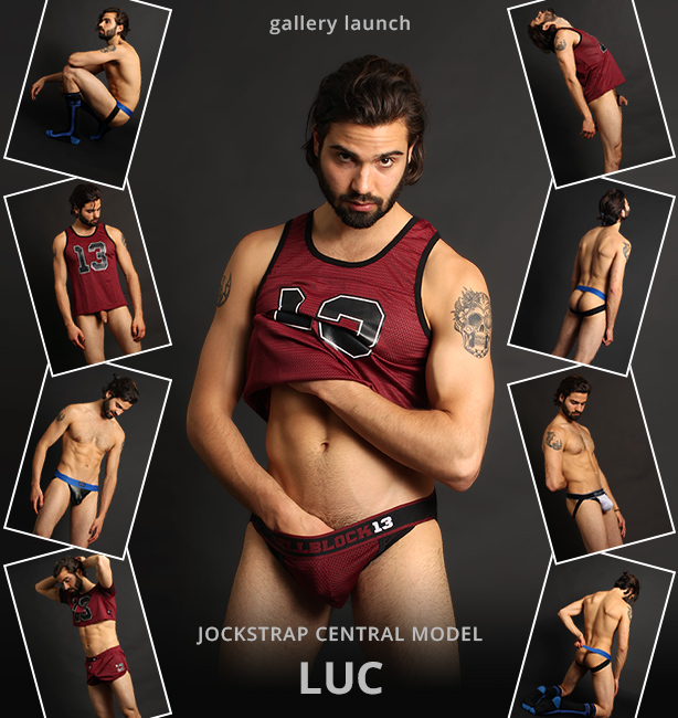 Jockstrap Central Model Luc - Gallery Launch