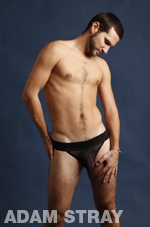 Jockstrap Model Adam Stray Gallery