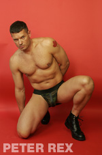 Jockstrap Model Peter Rex Gallery