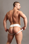 Jockstrap Central model Trent in JC Athletic Jockstraps