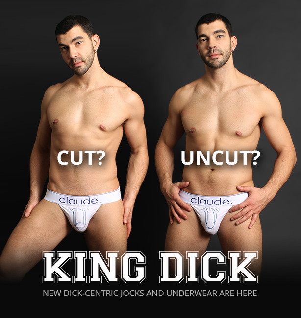 KING DICK Cut/Uncut Jockstrapa