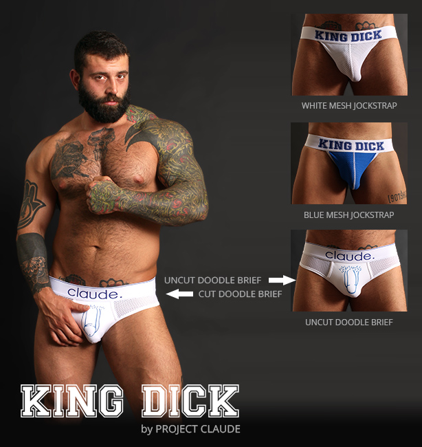 KING DICK Jockstraps and Underwear by Project Claude