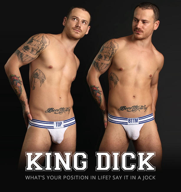 KING DICK Top/Bottom Sports Jockstrapa