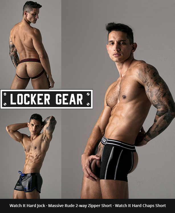 Spanish sports fetish brand Locker Gear Launched