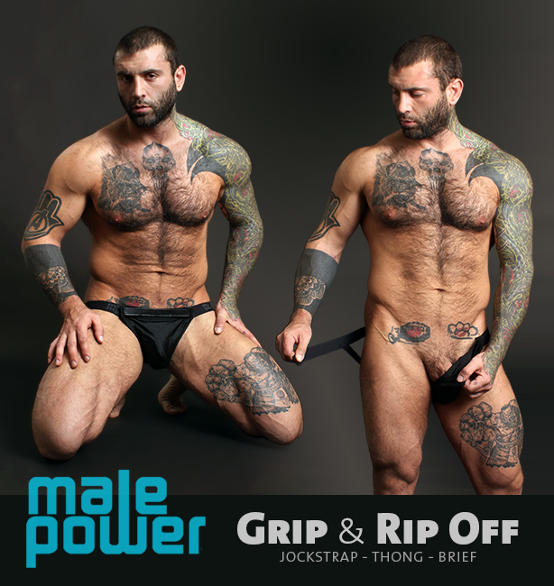 Male Power Grip and Rip Off Jocks Thongs and Briefs