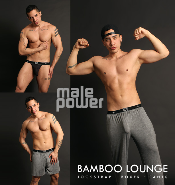 Male Power Lounge Pants, Jockstraps and Boxers
