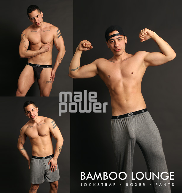 Male Power Bamboo Pants, Jockstraps and Boxers