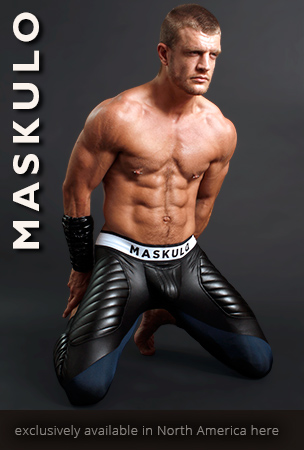 Maskulo Open Back Fetish Shorts and Jockstraps