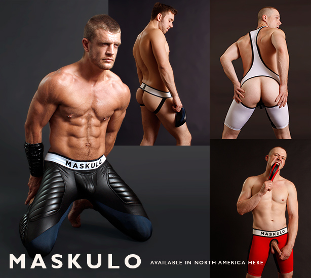 Maskulo - Sports Fetish Meets Mad Max - Available in North America Here