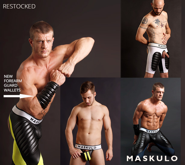 Maskulo Restocked! Plus new Forearm Guard Wallets
