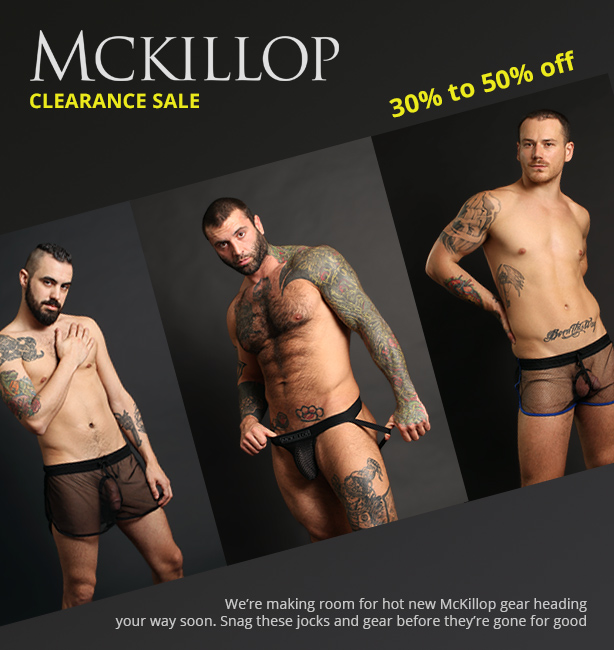McKillop Clearance Sale - 30% to 50% off everything