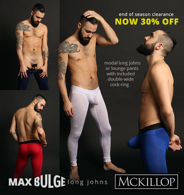 McKillop Max Bulge Long Johns Clearance