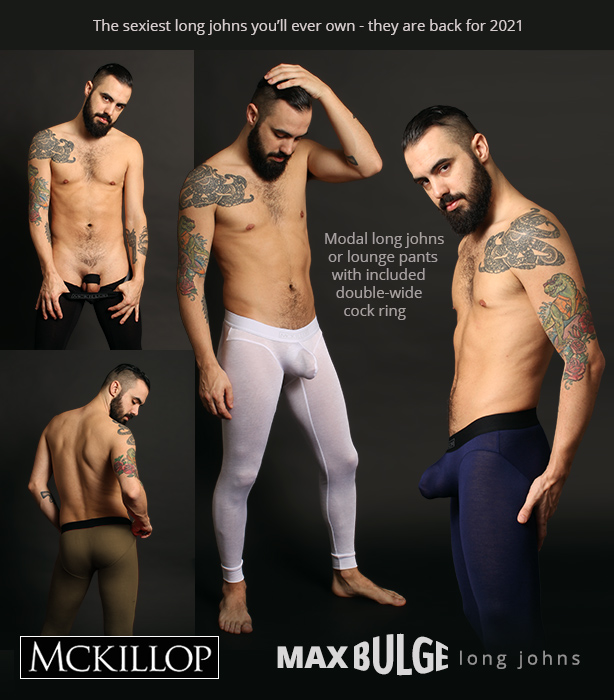 McKillop Max Bulge Long Johns are Back