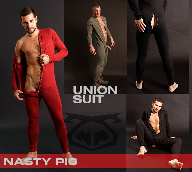 Nasty Pig Union Suits are Here!
