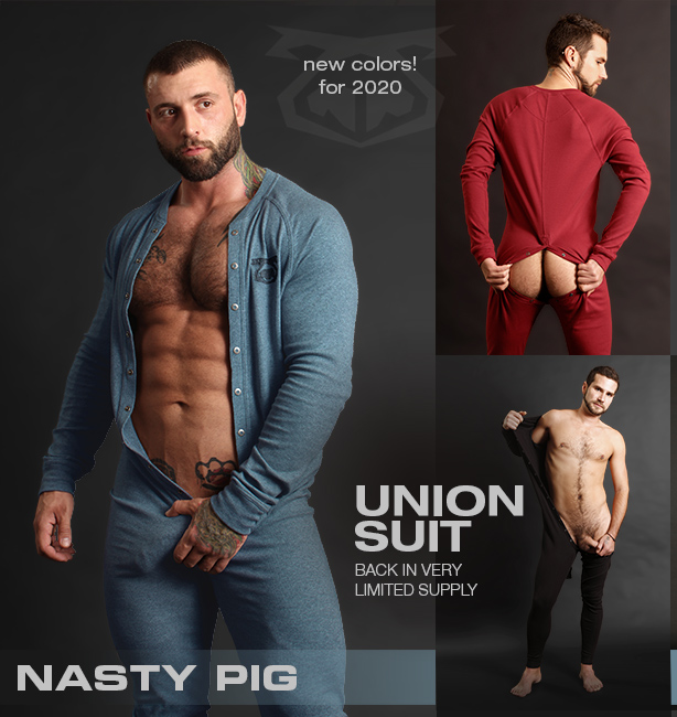 Nasty Pig 2020 Union Suits are Here! New Colors!