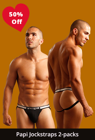 Papi Jockstrap 2-Packs 50% Off