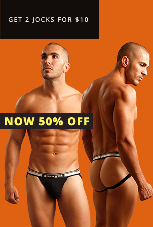 Papi 2-Pack Jockstraps now 50% Off