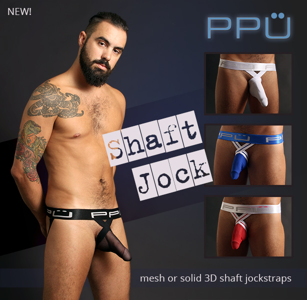 PPU Shaft Jockstraps are Here