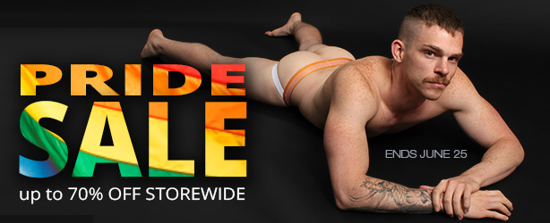 Pride Sale at Jockstrap Central