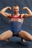 Pulse Sheer Wrestling Singlet - Great Britain