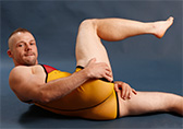 Pulse Sheer Wrestling Singlet - Germany Detail 2