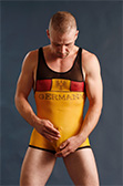 Pulse Sheer Wrestling Singlet - Germany