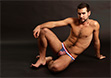 Pulse Stretch Mesh Country Jockstrap - USA
