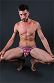 Pulse Stretch Mesh Country Jockstrap - Great Britain